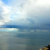 Distant Rain Clouds