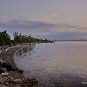 A quiet morning at Lake Ontario