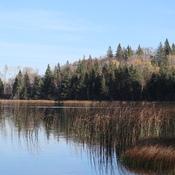 Deep Lake near Rossburn, Manitoba