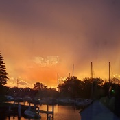 Sunrise at Bridgeview Marina