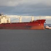 SHIP coming into PORT