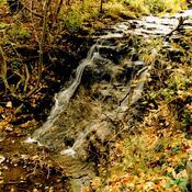 Hermitage Cascade in Autumn Colours