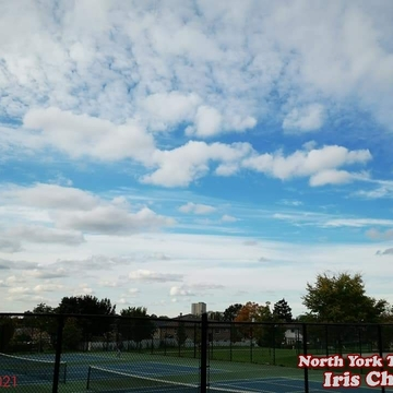 Oct 23 2021 1:51pm Beautiful sky last Saturday afternoon in North York