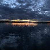 Notre magnifique Lac St-Francois qui s'endort