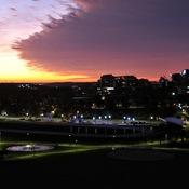 Sunrise over the North Common Halifax
