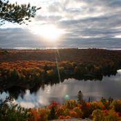 Technicolor landscape