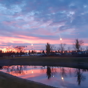 Sunrise NE Calgary today
