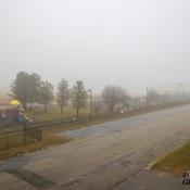 Rainy Snowy Sunny Foggy Weekend but Foggy Monday.