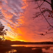 Blazing Fall Sunrise
