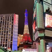 2021-10-25 - Bally's & Paris, Las Vegas - out for an evening walk