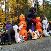 Hallowe'en fun in Kouchibouguac New Brunswick