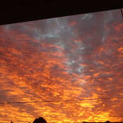 The Sky Is On Fire