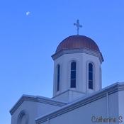 Moon and Faith Greet Each Other