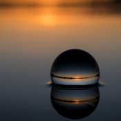 Crystal Ball Reflection