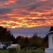 Beautiful Sunset taken as clouds break