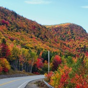 cabot trail fall colours