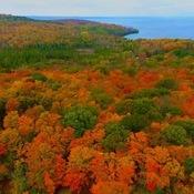 Lake Manitou Autumn Colours