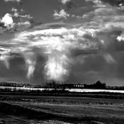 Strange cloud cover