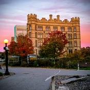 Beautiful rosy sunset all over Ottawa last night