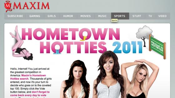 Maxim | Hometown Hotties
