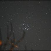 Amas d'étoiles, les Pléiades