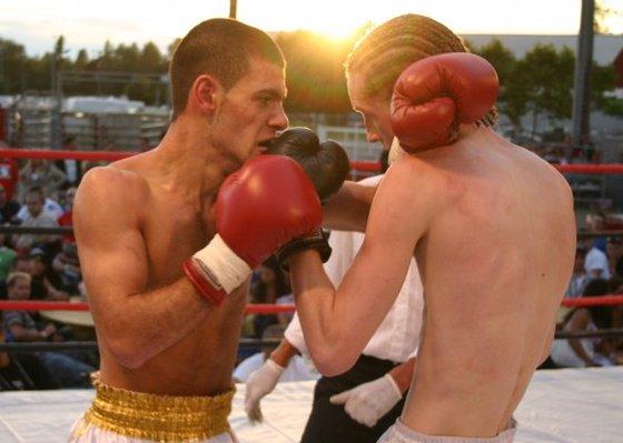 Second Amateur Fight