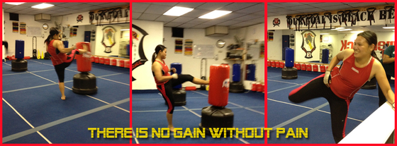 Kickboxing - No Pain No Gain