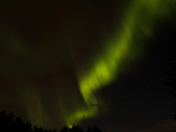 Northern Lights seen in Central Alberta
