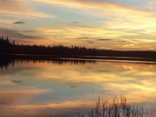 Rufus Lake, Ontario (an hour and a half away from Kapuskasing)