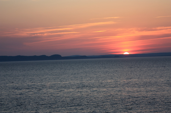 Canadian Geographic Photo Club Sunset At Conception Bay South