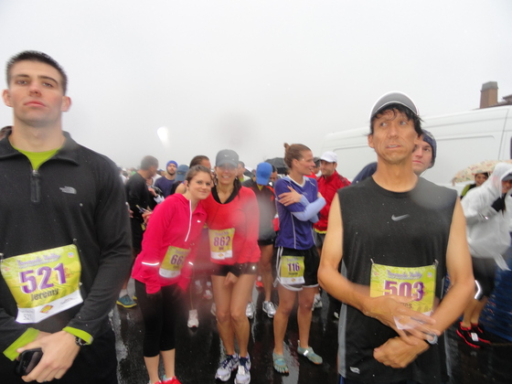 Temecula Half Marathon with Sisters and Cousins