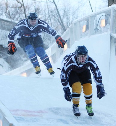Red Bull Crashed Ice Competition