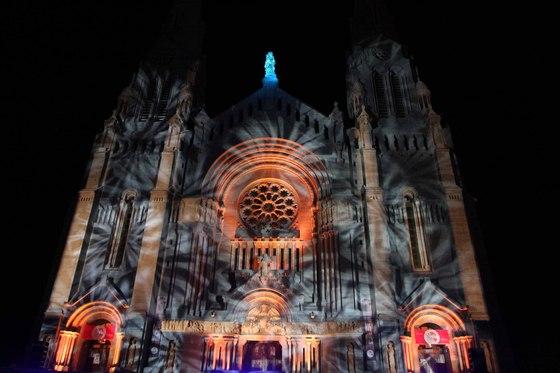 Ste. Anne de Beaupre Basilica light show