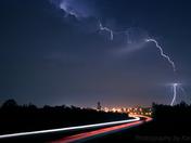 Lightning over Queensway