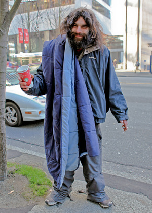 Winter fashion for the homeless