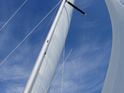 Filling the sails