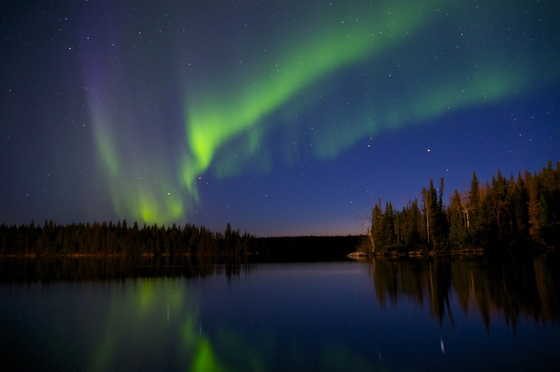 Canadian geographic photo club northern lights in garden for Northern light and garden