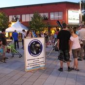 Soirée d'astronomie au centre-ville de Joliette