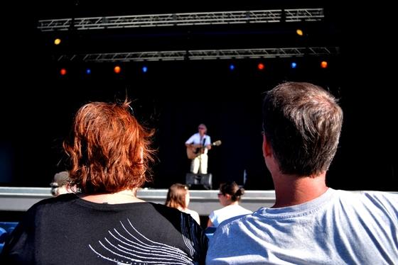 Sudbury's Chuck Labelle Performing @ Grace Amphitheatre