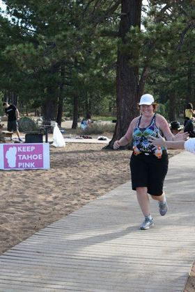 Finishing a Sprint Tri
